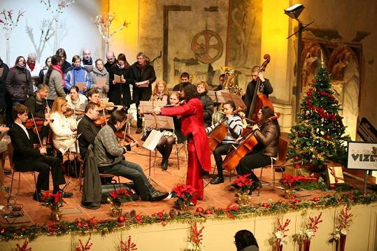 Varhan Orchestrovič Bauer při loňském koncertu.
