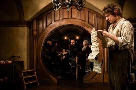 Bilbo tuší, že cesta, která ho čeká, nebude jednoduchá.
