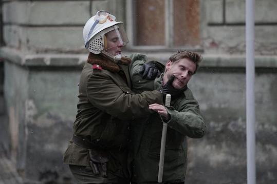Tonda Sova se dostal do křížku s policií.