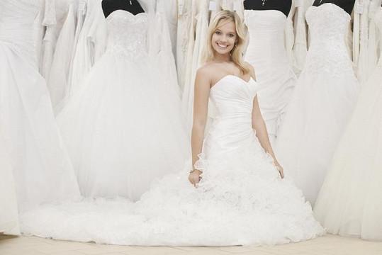 Kristýna sní o pohádkové svatbě.