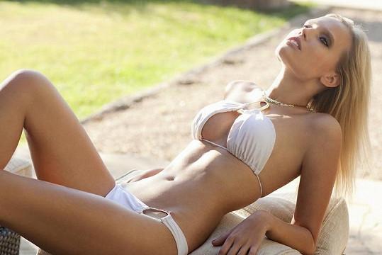 Kristýna vystavila své hříšně krásné tělo.