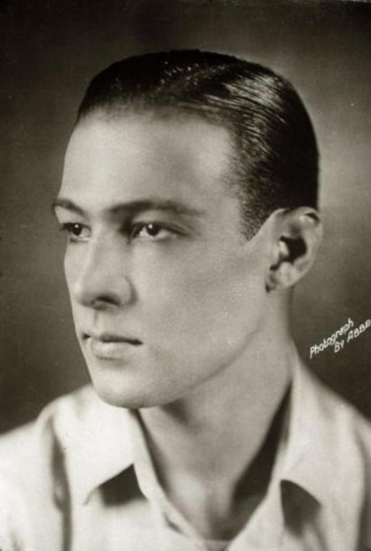 Rudolph Valentino na propagační fotce