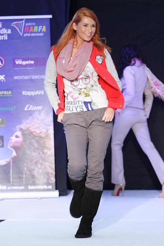 Darja předvedla také sportovní modely.