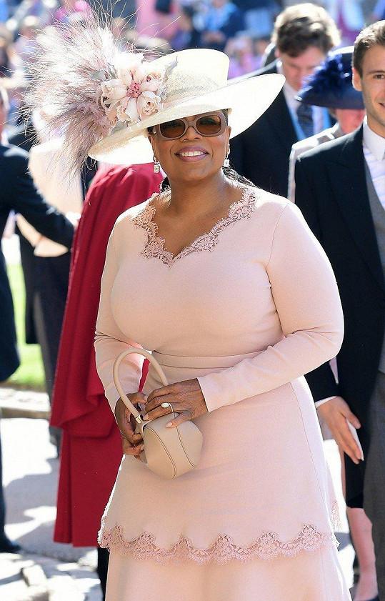 Moderátorka Oprah Winfrey