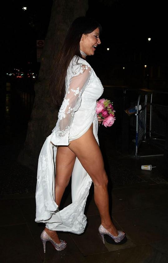 A tohle je její typický outfit posledních let.