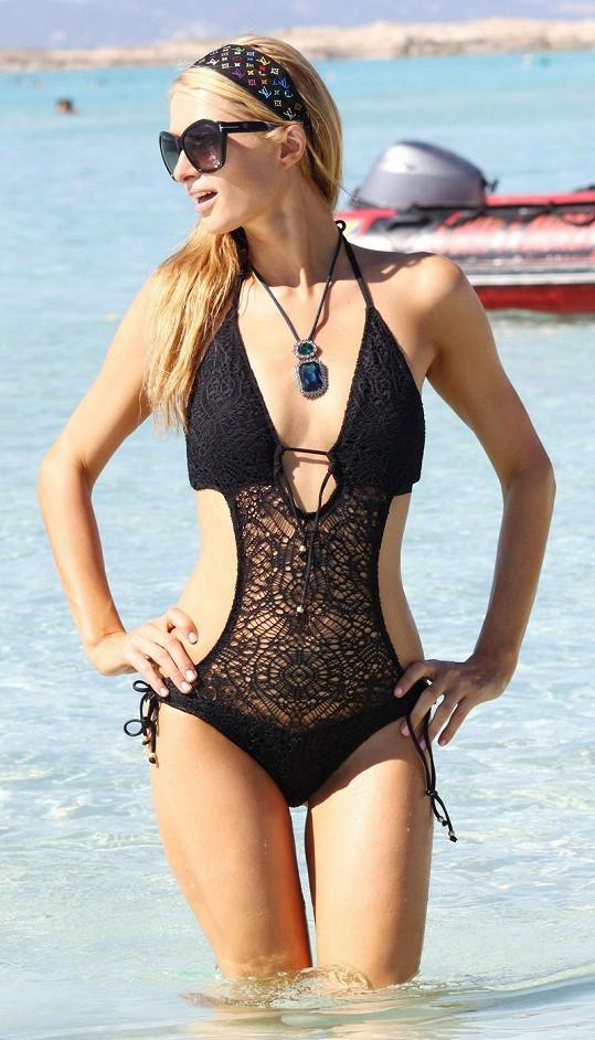Paris Hilton měla úžasné plavky.