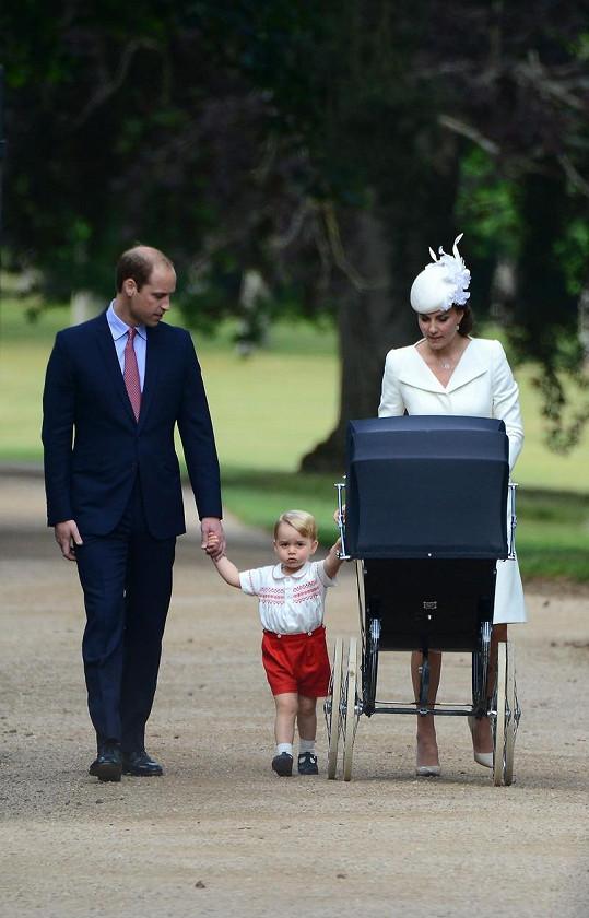 Kate a William tvoří krásnou rodinku.