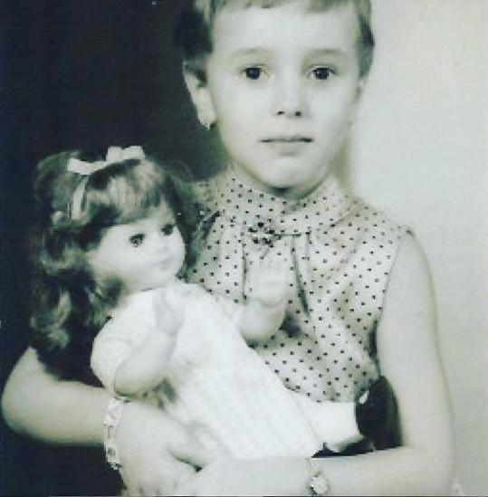 Jako malá holčička byla opravdu roztomilá.