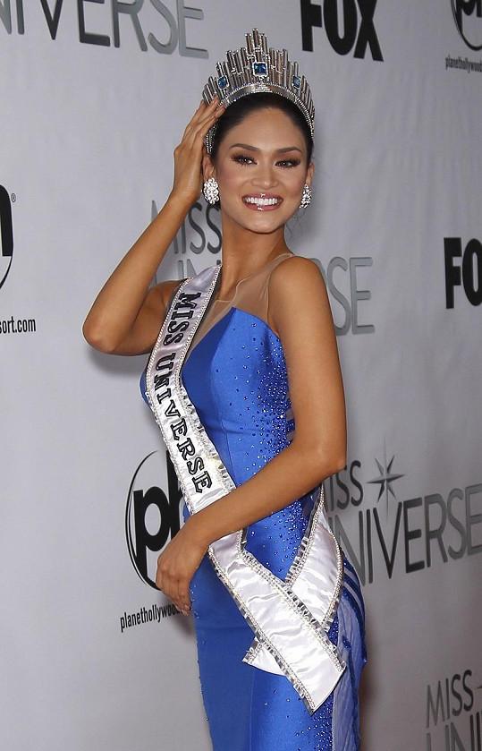 Pia Alonzo Wurtzbach je třetí Filipínkou, která získala titul Miss Universe.