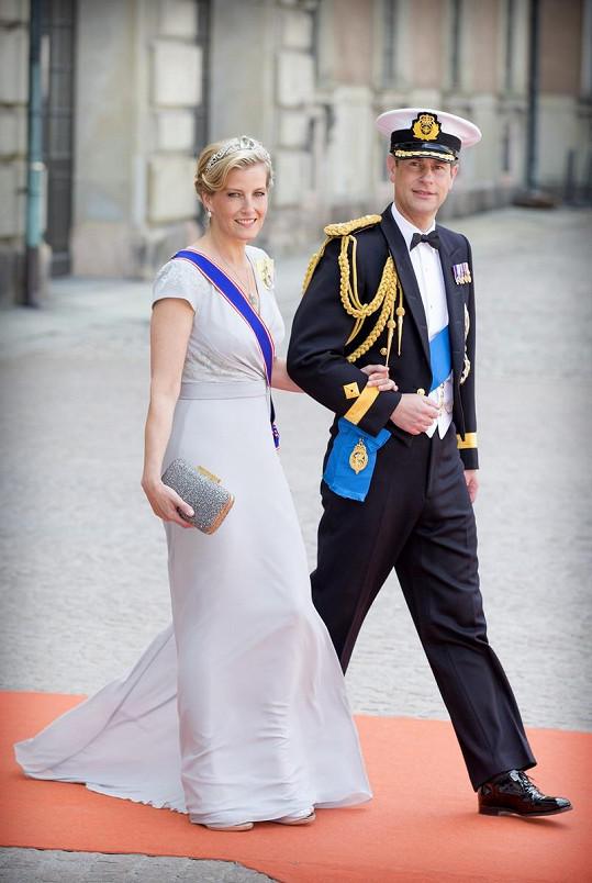 Oblékla je na svatbu švédského prince Carla Philipa.