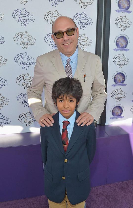 Willie si syna adoptoval, když mu bylo sedm.