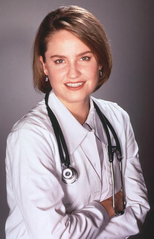 Sherry Stringfield v seriálu Pohotovost (1995)