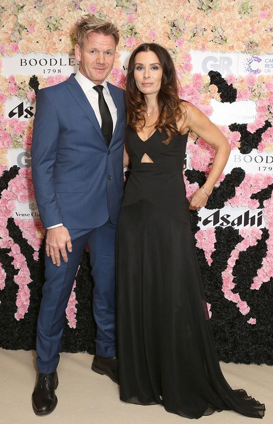 Gordon Ramsay s manželkou Tanou vychovávají pět dětí. Nejstarší Megan je 22 let, nejmladšímu Oscarovi rok.