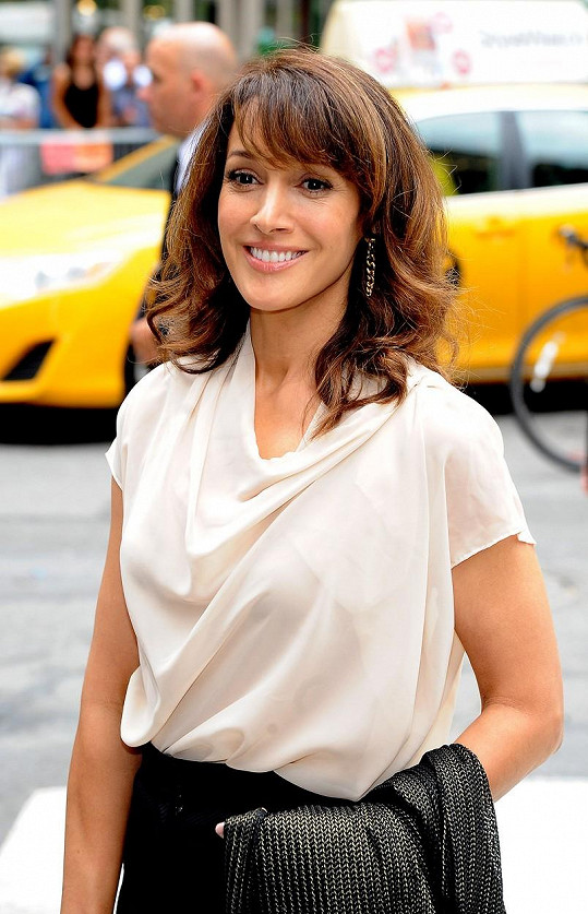 Po padesátce vypadá herečka snad lépe než před lety.