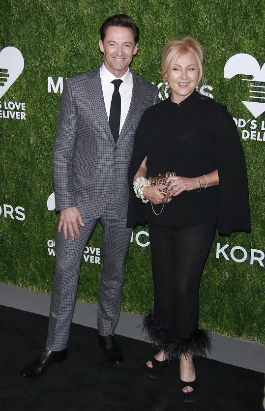 Hugh Jackman a Deborra-Lee Furness oslavili stříbrnou svatbu.