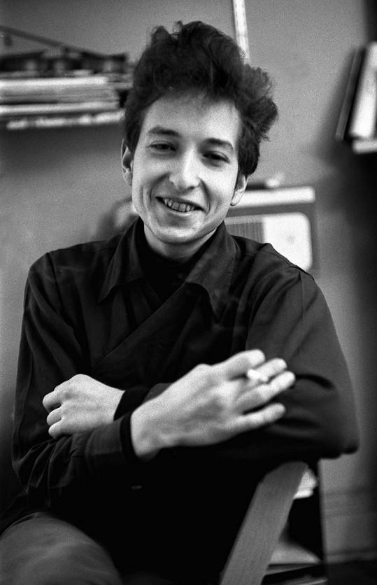 Mladý Bob Dylan