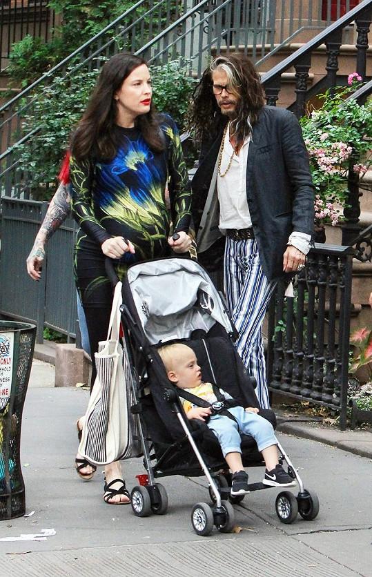 Liv Tyler je opět maminkou, Steven Tyler dědečkem.