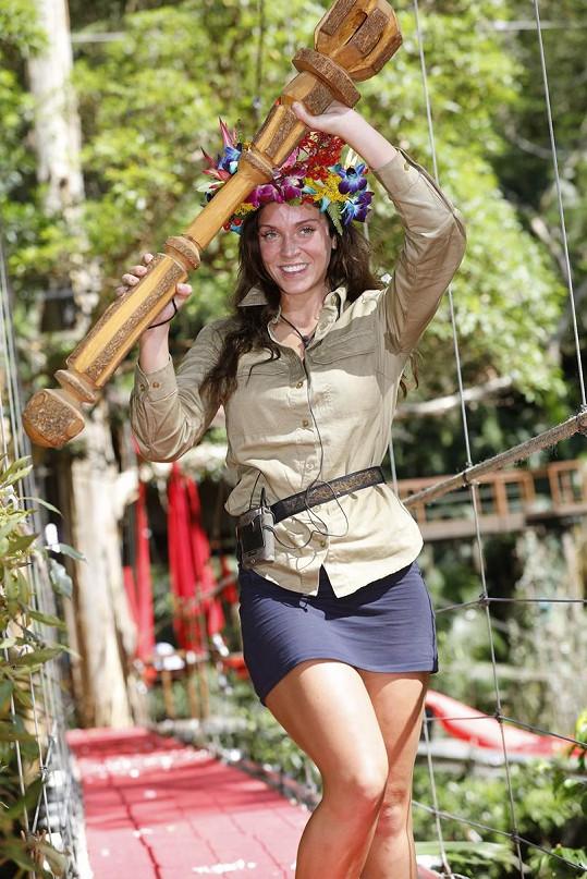 Vicky Pattison je novou královnou džungle.