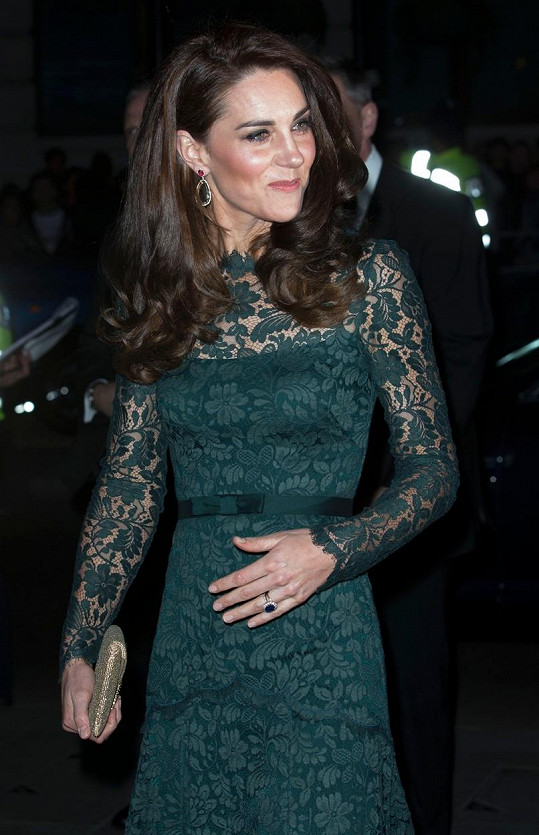 Vévodkyně Kate opět předvedla svůj vytříbený vkus.