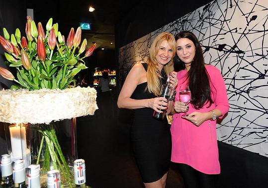 Tamara Kotvalová na párty s expartnerkou manžela Simony Krainové, manažerkou Zuzanou Poláčkovou.