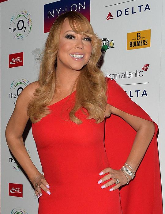 Mariah Carey netušila, že ukázala nevzhledné zákoutí svého těla.