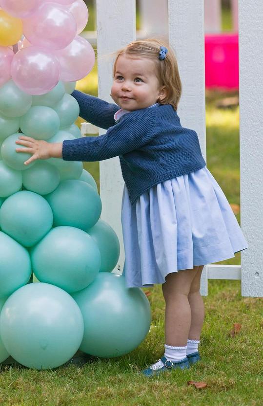 Pro princezničku Charlotte je výlet do Kanady první oficiální mezinárodní návštěvou.