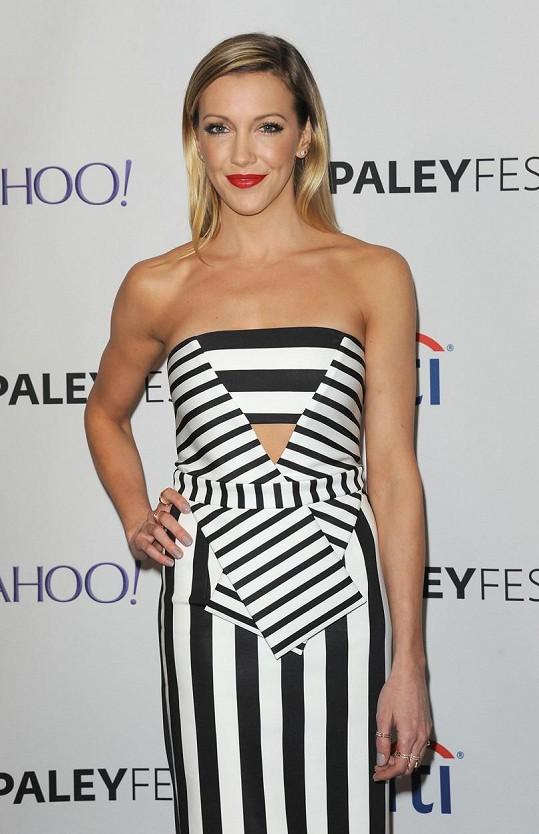 Katie je hvězdou seriálu Arrow