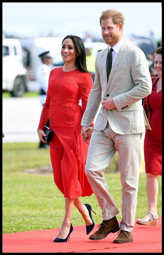 Vévoda a vévodkyně ze Sussexu za sebou mají první velkou cestu po Austrálii a Oceánii.