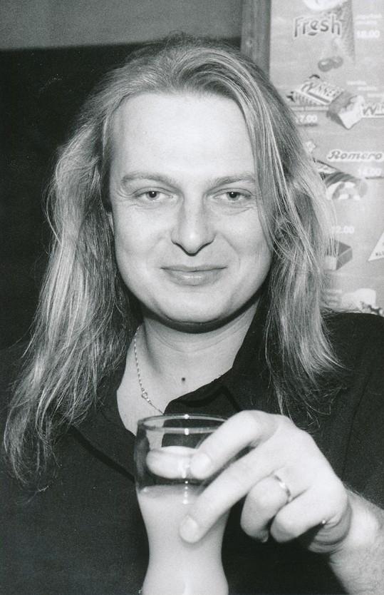 Ladislav Křížek v době největší popularity na začátku devadesátých let.