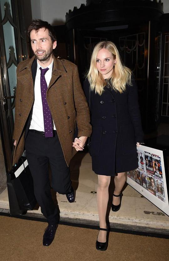 S manželem Davidem