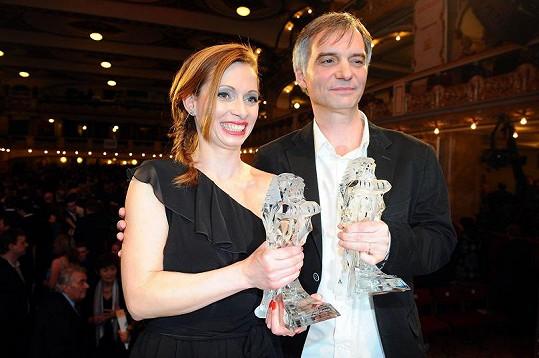 Gábina Míčová s Ivanem Trojanem.