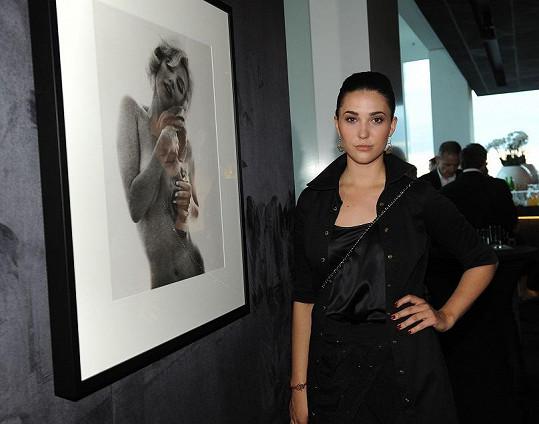Výstavu pomáhala organizovat Zuzana Poláčková.