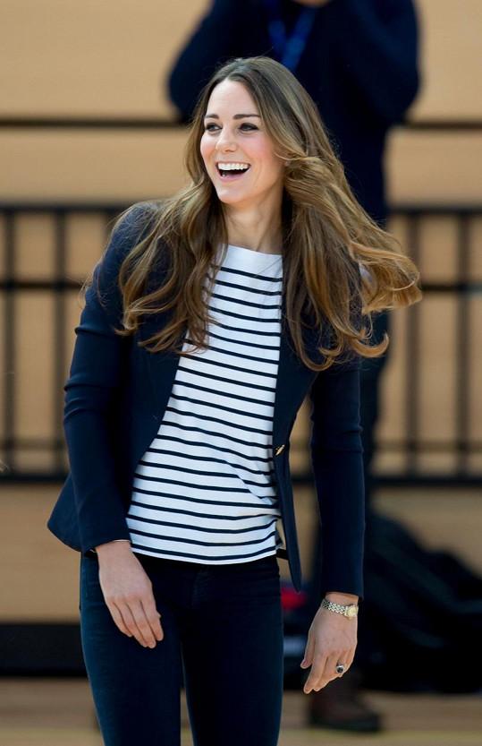 Vévodkyně na sportovní akci v roce 2013