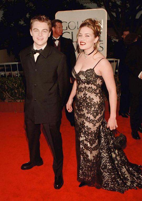 Herecké hvězdy v roce 1998 na udílení Zlatých glóbů, kde Titanic posbíral čtyři ceny. Film následně získal 11 Oscarů.