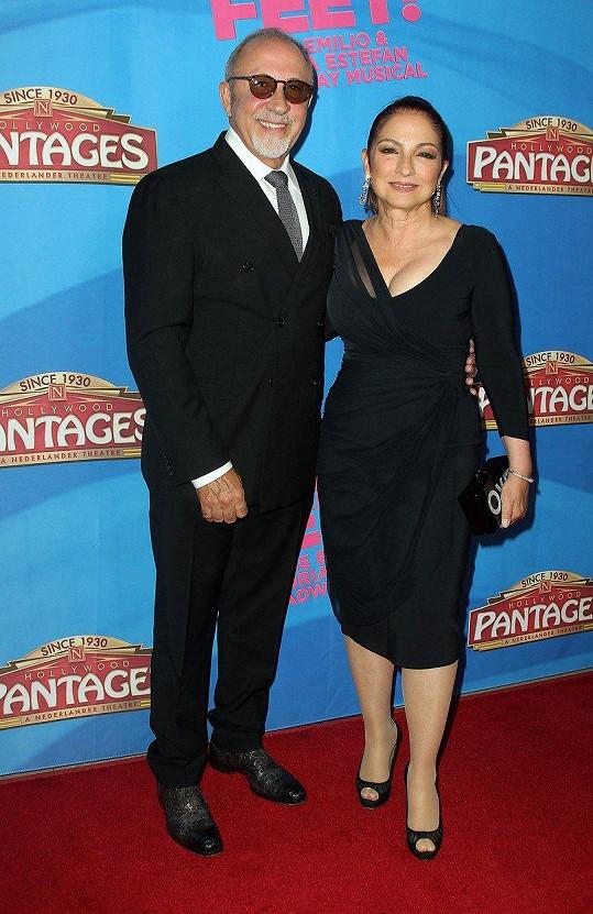 Gloria s manželem Emiliem