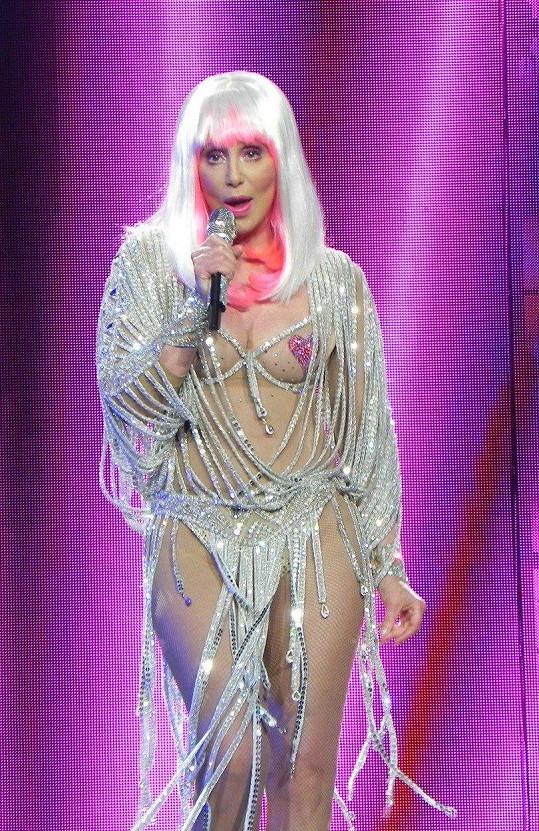 Takhle se oblékla v roce 2014 na turné, které nedokončila.