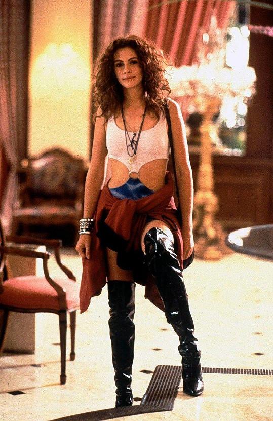 Vivian Ward z kultovní komedie Pretty Woman.