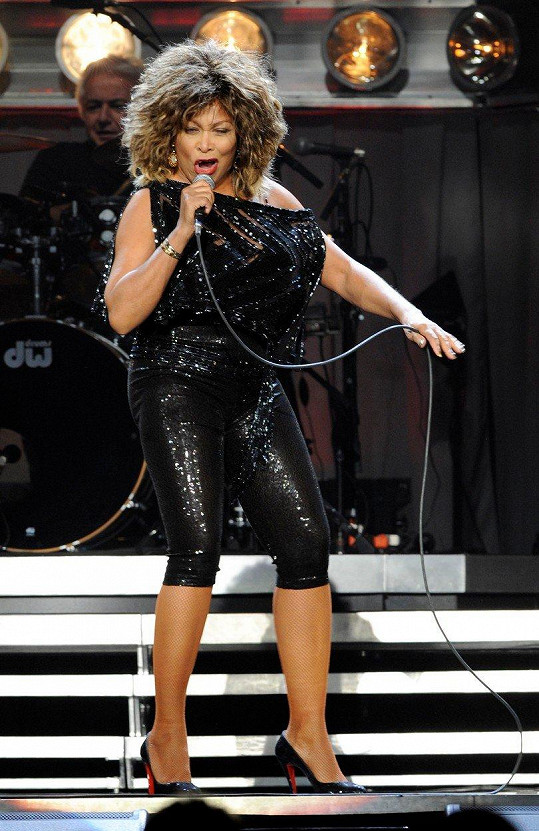 Legendární zpěvačka proslula koncerty plnými energie.