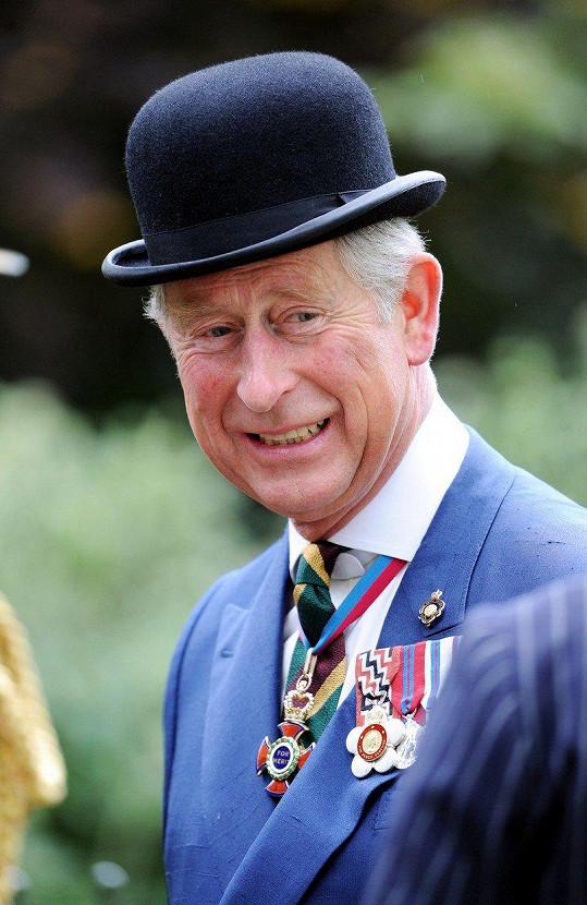 Otce Thomase zastoupí princ Charles.