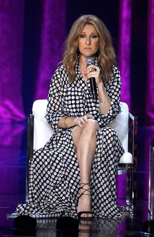Céline uvedla, že to byl právě její manžel, kdo ji přesvědčil k návratu na pódium.