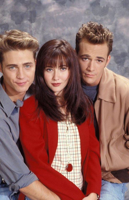 Dylan, Brenda a Brandon v seriálu Beverly Hills