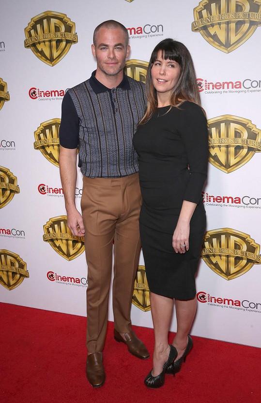 Chris Pine s režisérkou Patty Jenkins