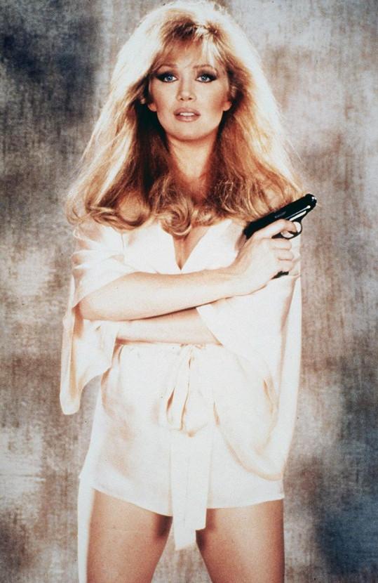 Herečka ve filmu Vyhlídka na vraždu (1985)