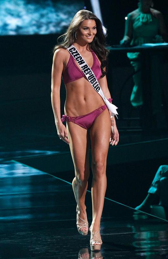 Jako česká královna krásy nás reprezentovala na Miss Universe.
