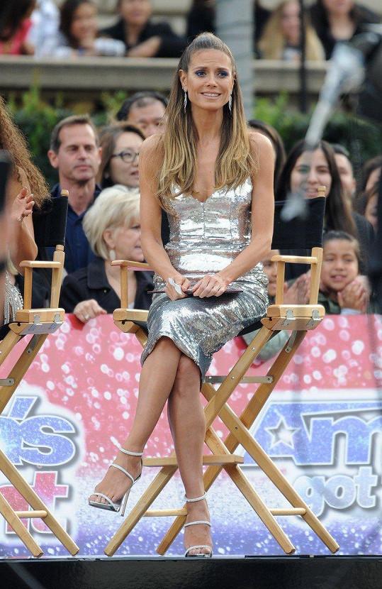 Heidi Klum je nejen modelkou a návrhářkou, ale také porotkyní amerického Talentu.
