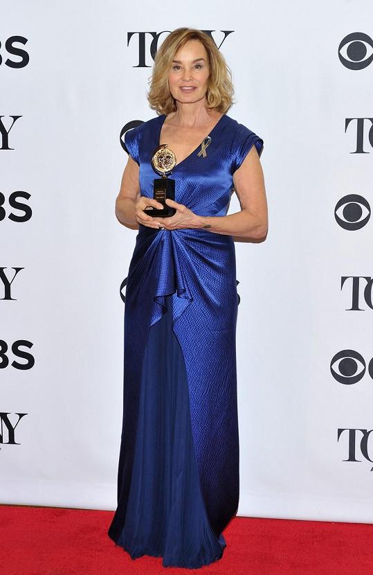 Herečka svou sbírku rozšířila o cenu Tony