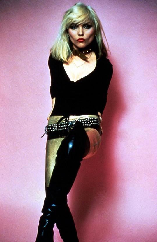 Debbie Harry v době své největší slávy.