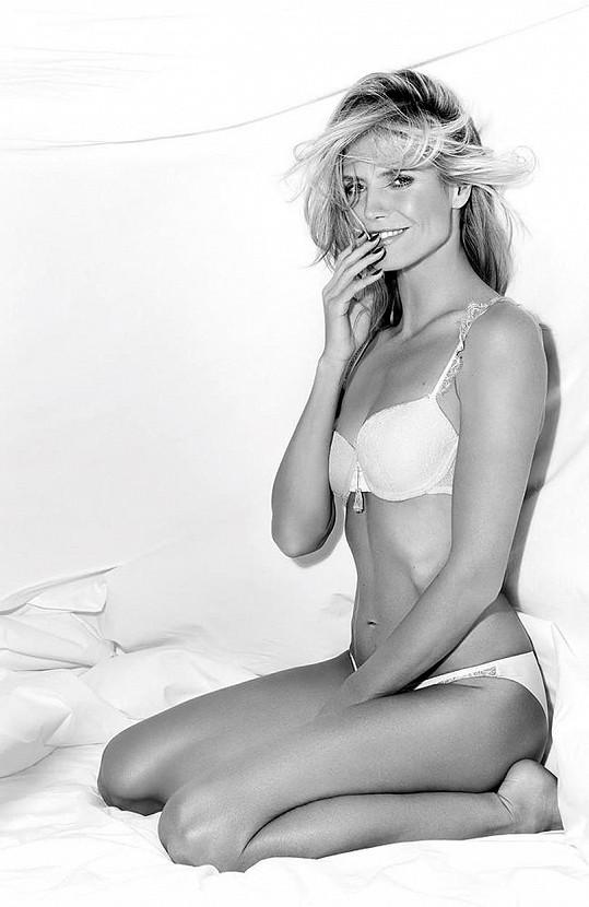 Heidi Klum pro svou značku HK Intimates