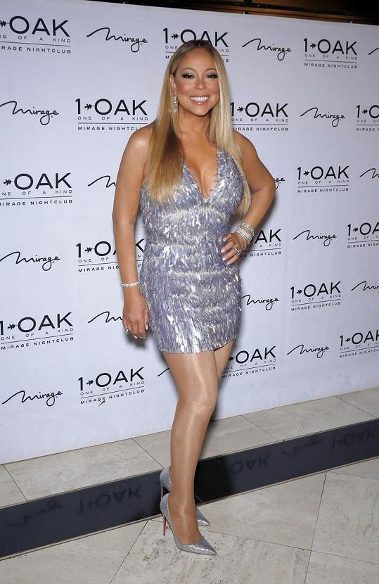Mariah Carey je absolutně šťastná.