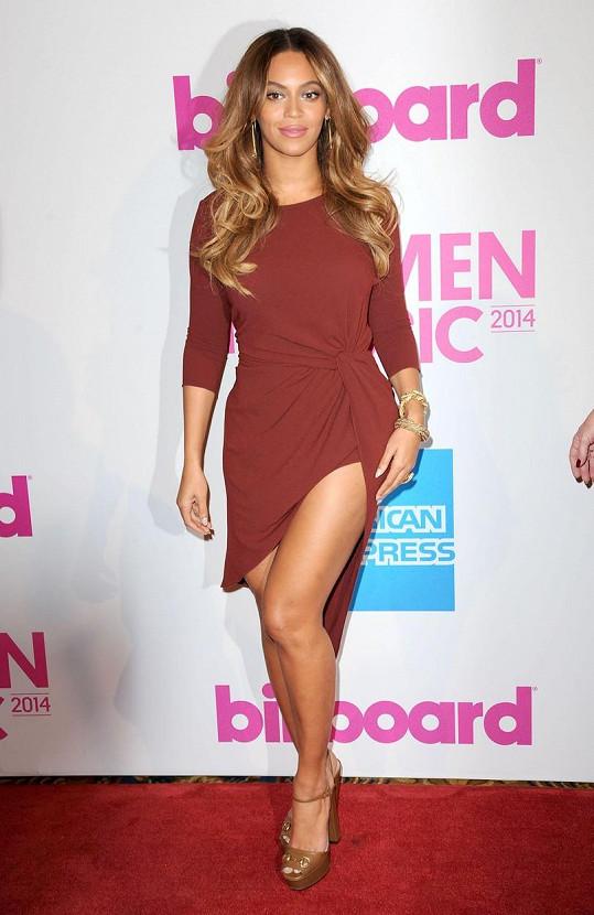 Beyoncé podědila geny po mamince.